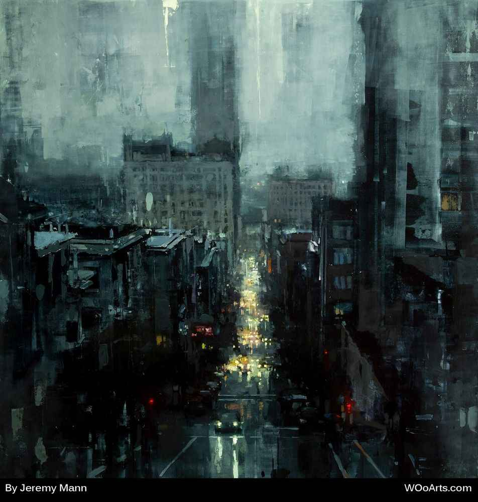 by artist painter Jeremy Mann