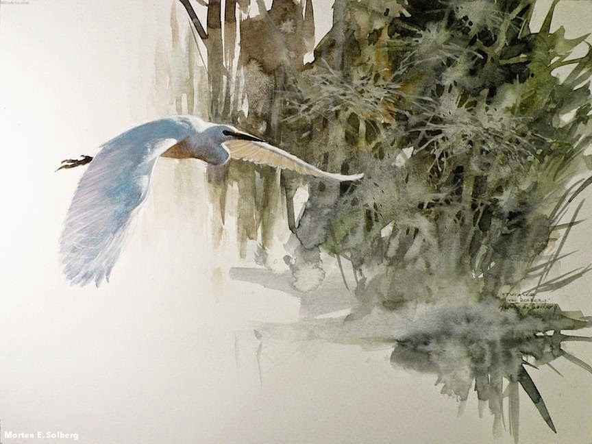By Artist Painter Morten E. Solberg 01