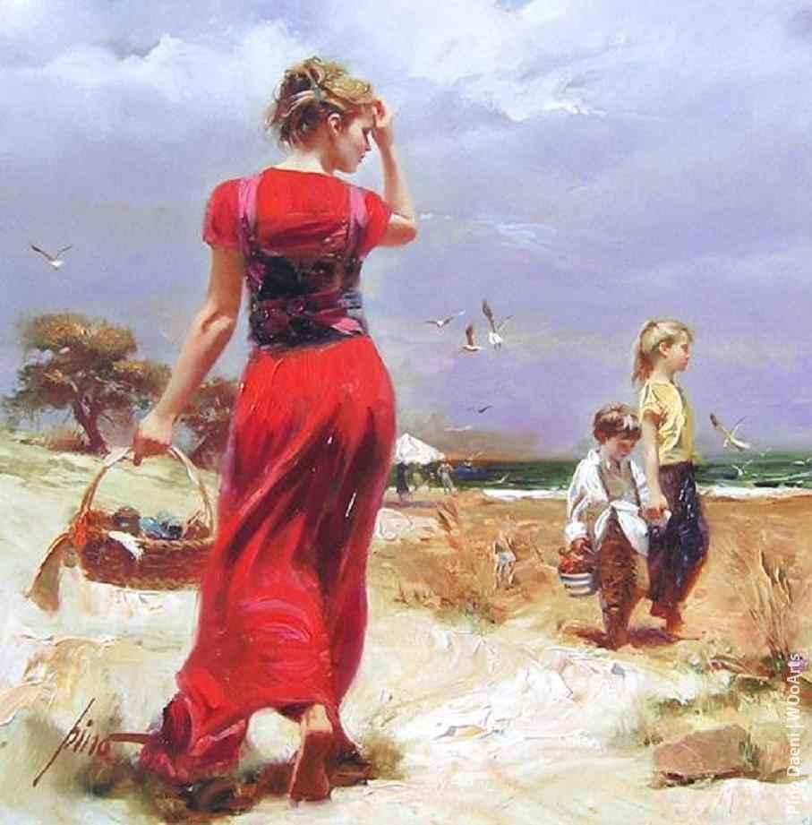 Artist Painter Pino Daeni 001