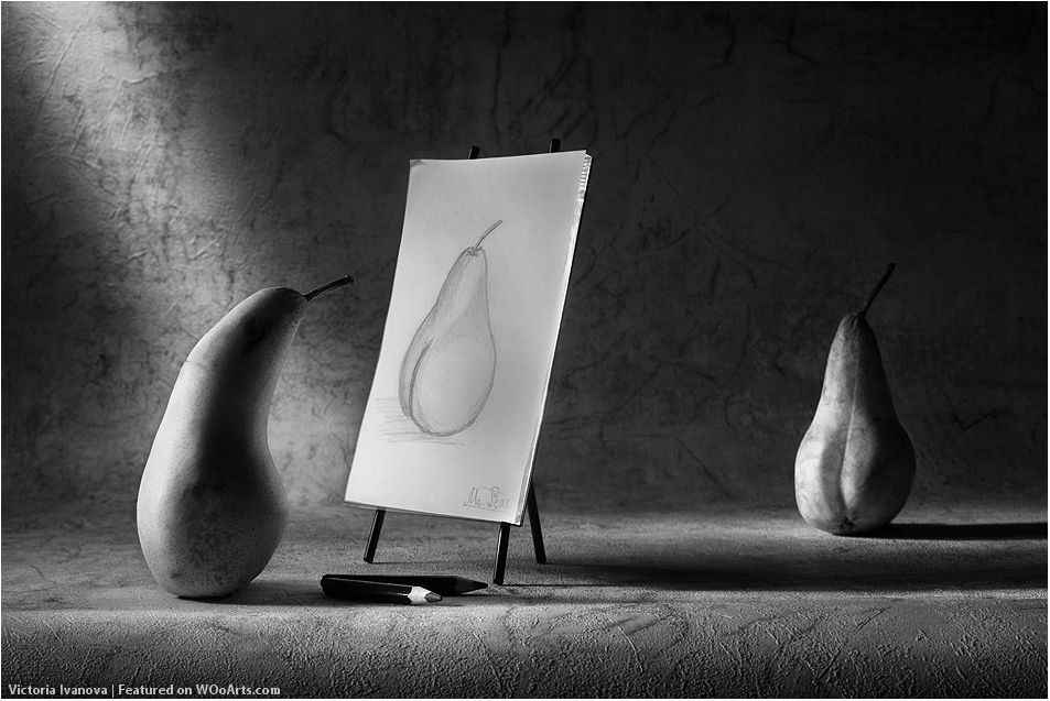 Pears Model - Photography: Conceptual, Imaginary Stories By Artist Victoria Ivanova