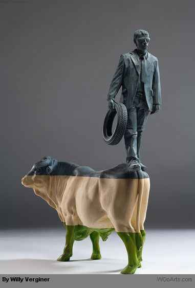 By Artist Sculptor Willy Verginer