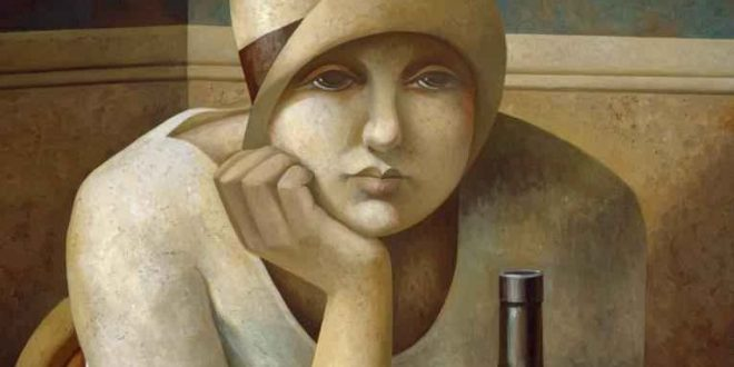 Painting Artist Fabio Hurtado at WOoArts