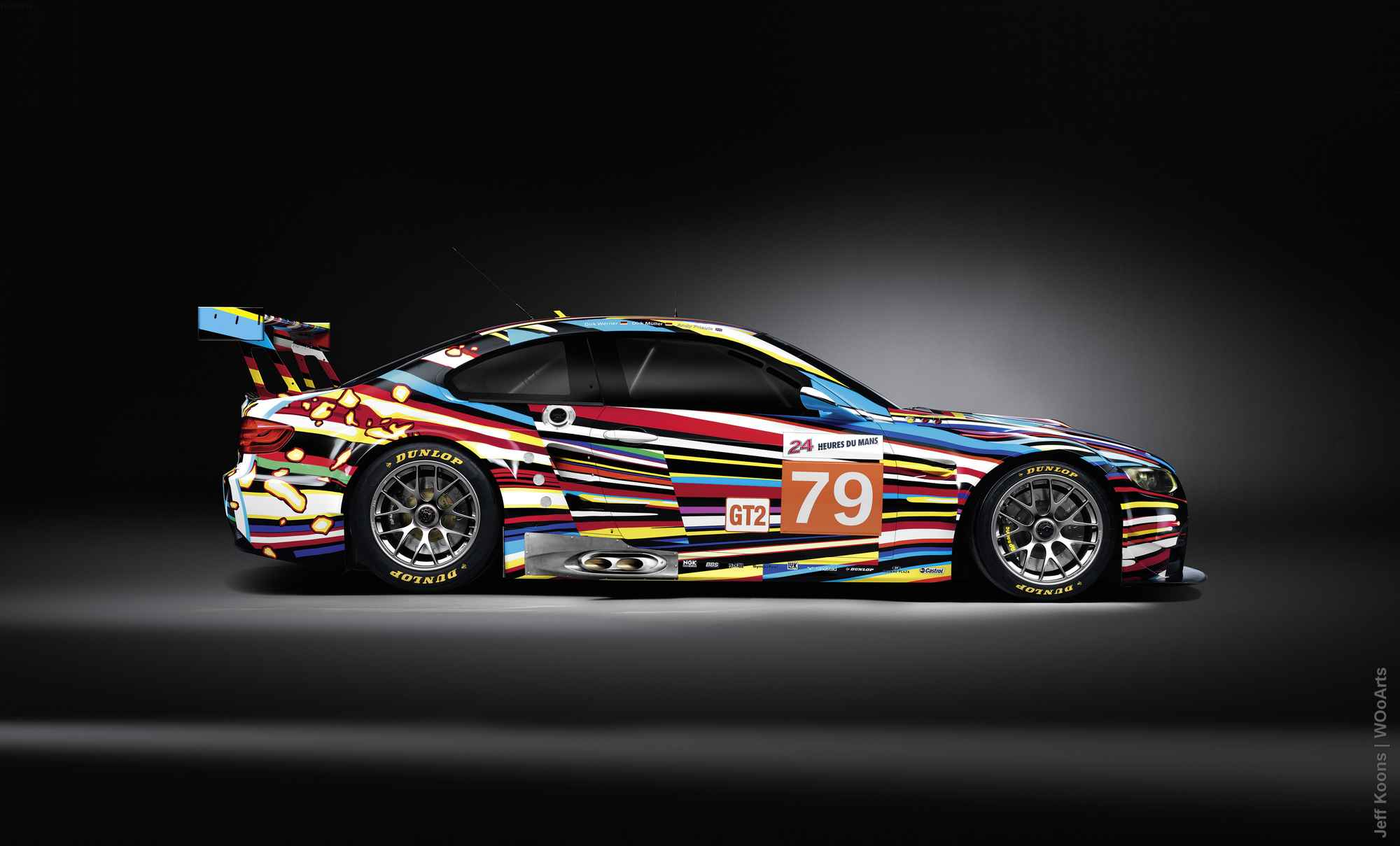 BMW Paint Design by Artist Jeff Koons in 2010
