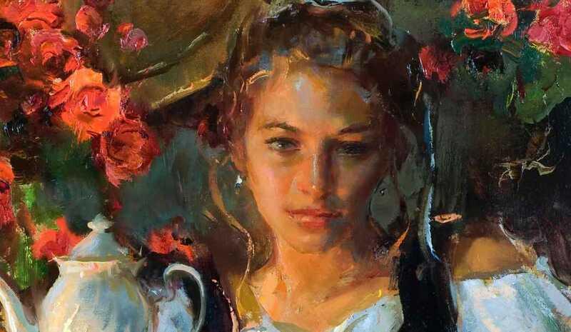 Daniel F. Gerhartz Painting