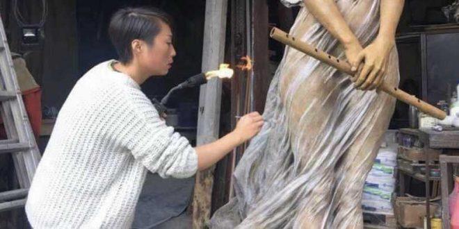 Luo Li Pong Sculpture
