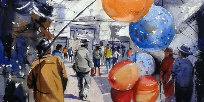 Watercolor Paintings By Indian Artist Amit Kapoor