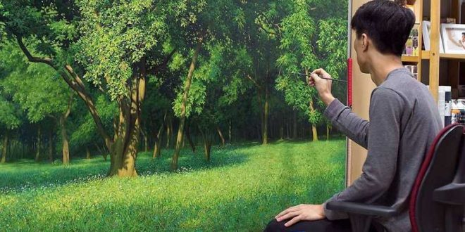 An Jung-Hwan Painting