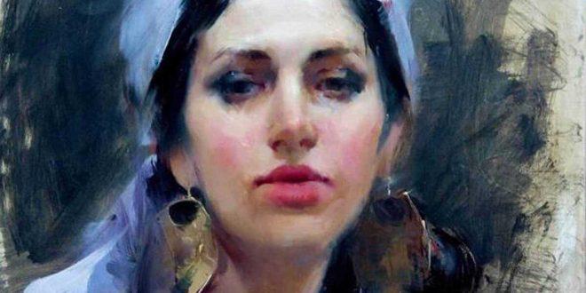 Asmaa M. Khoury Painting