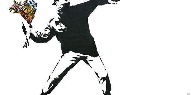 Painting Artist Banksy at WOoArts