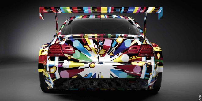 BMW Car Art Design by Jeff Koons wooarts