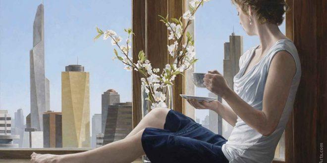 bryan larsen painting american artist