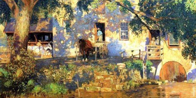 Daniel Garber Painting