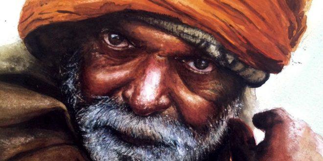 Artist Djelloul Merhab