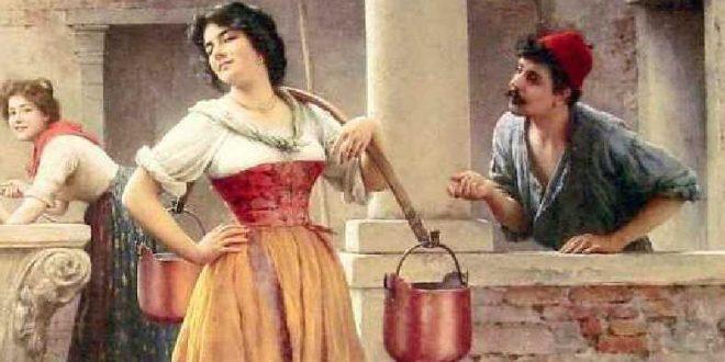 Eugene de Blaas Painting