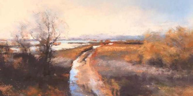Florence Penouty Pastel Painting