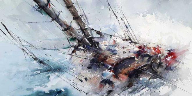 Giuliano Boscaini Watercolor Painting