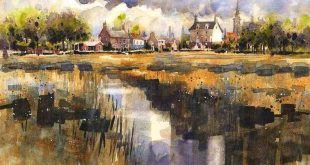 Iain Stewart Watercolor Painting