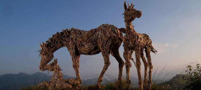 James Doran Webb Driftwood Sculpture