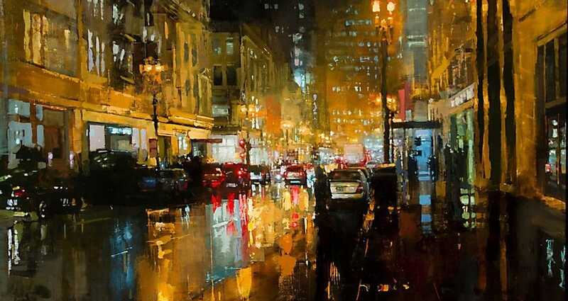 Jeremy Mann Oil Painting