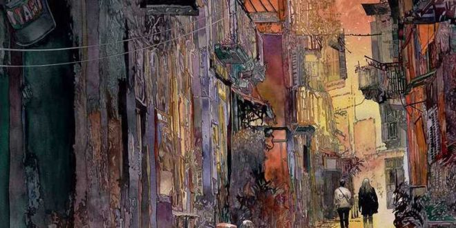 John Salminen Watercolor Painting