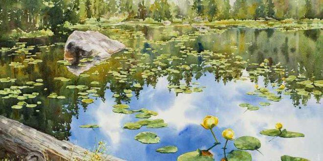 Kathleen Lanzoni Watercolor Painting