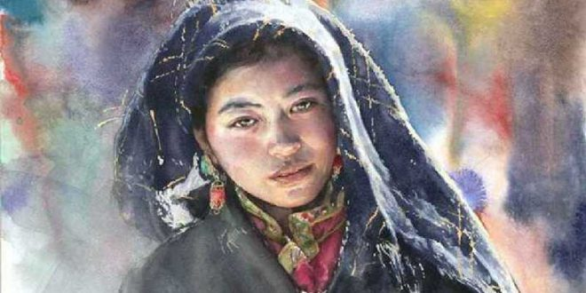 Liu Yunsheng Watercolor Painting