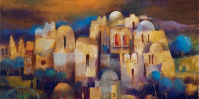 Artist Nouri Alrawi