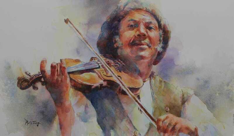 Phyllis Tseng Watercolor Painting