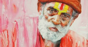 Rajkumar Sthabathy - Watercolor Painting