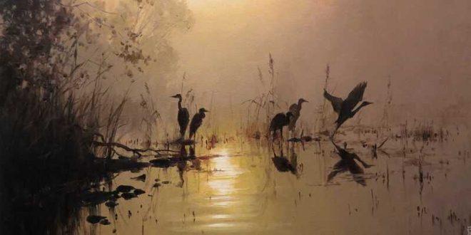 Painting by Artist Roman Božkov
