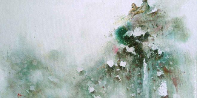 Watercolor Painting by Artist Sandatharaka Abeysinghe
