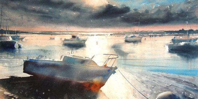 Watercolor Painting by Artist Sergiy Lysyy
