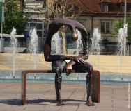 Sculpture by Artist Albert Gyorgy
