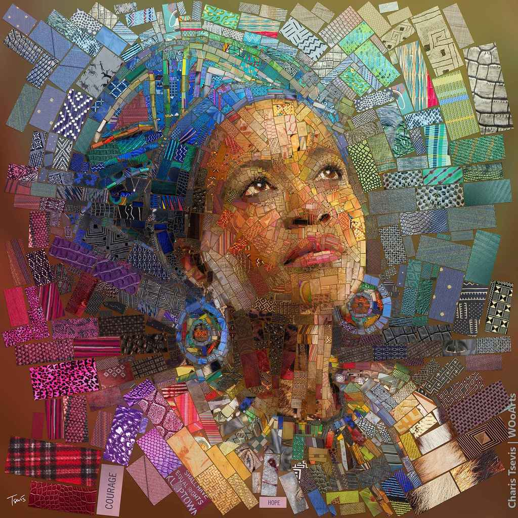 Digital Illustration by Greek Artist Charis Tsevis