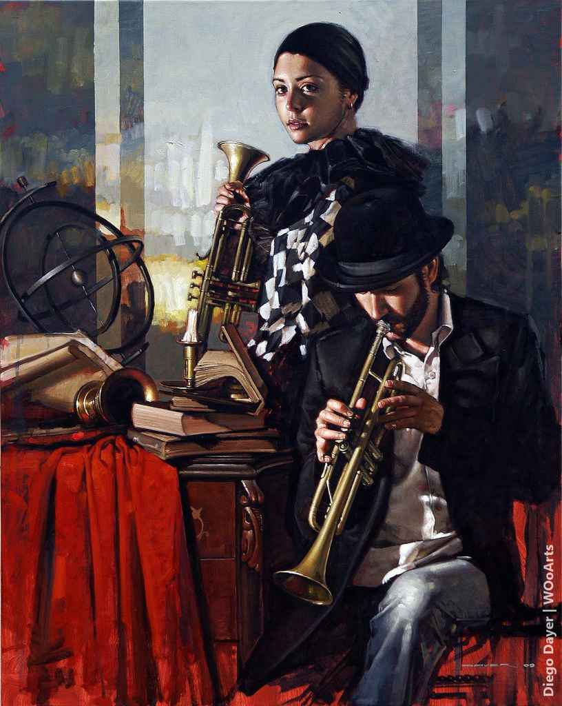 Painting by Artist Diego Dayer