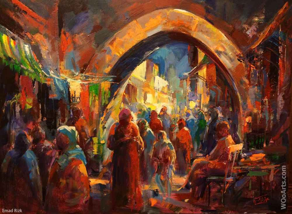 Painting By Emad Rizk Available For Sale