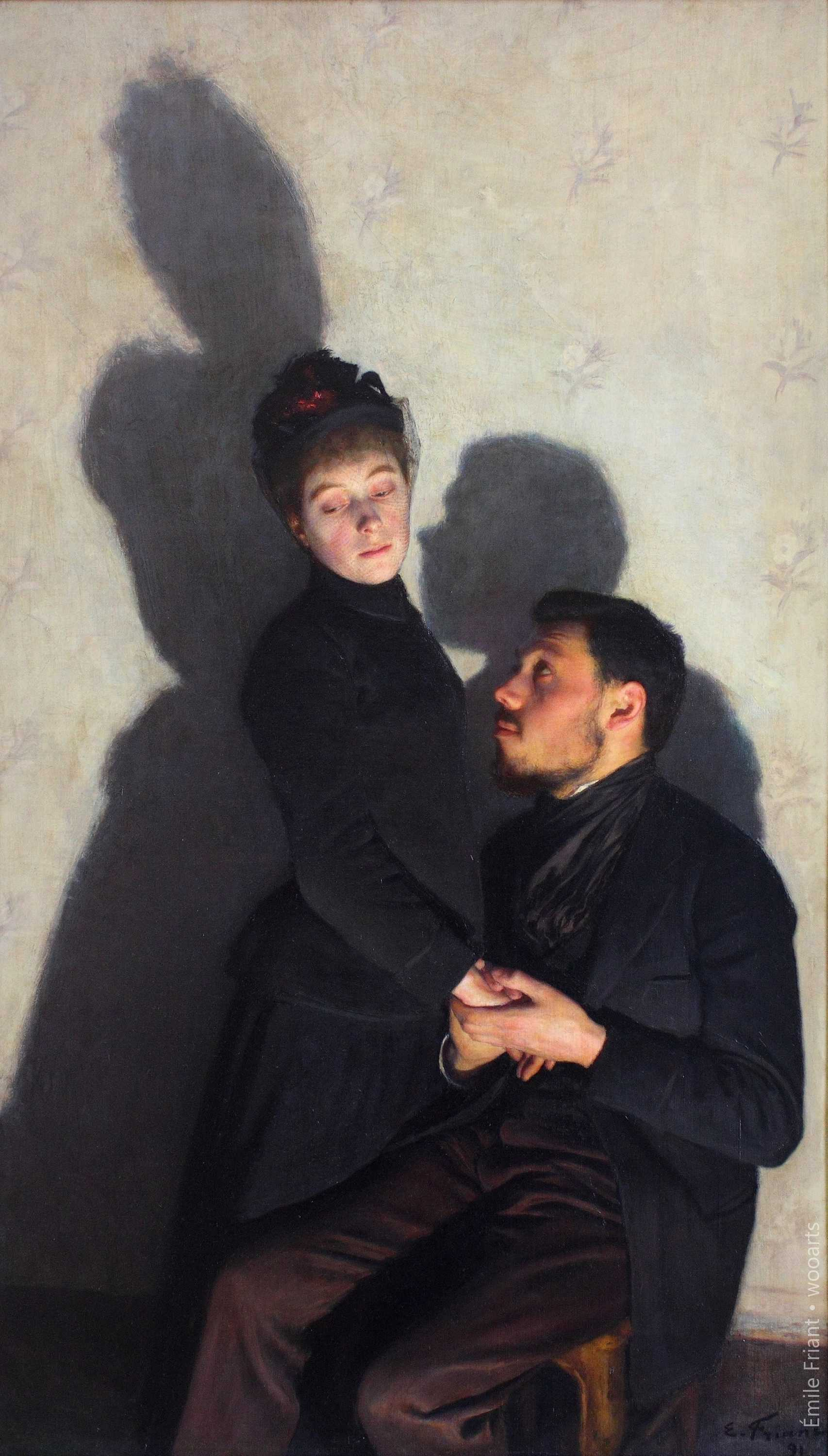 28 Oil Paintings By French Artist Emile Friant