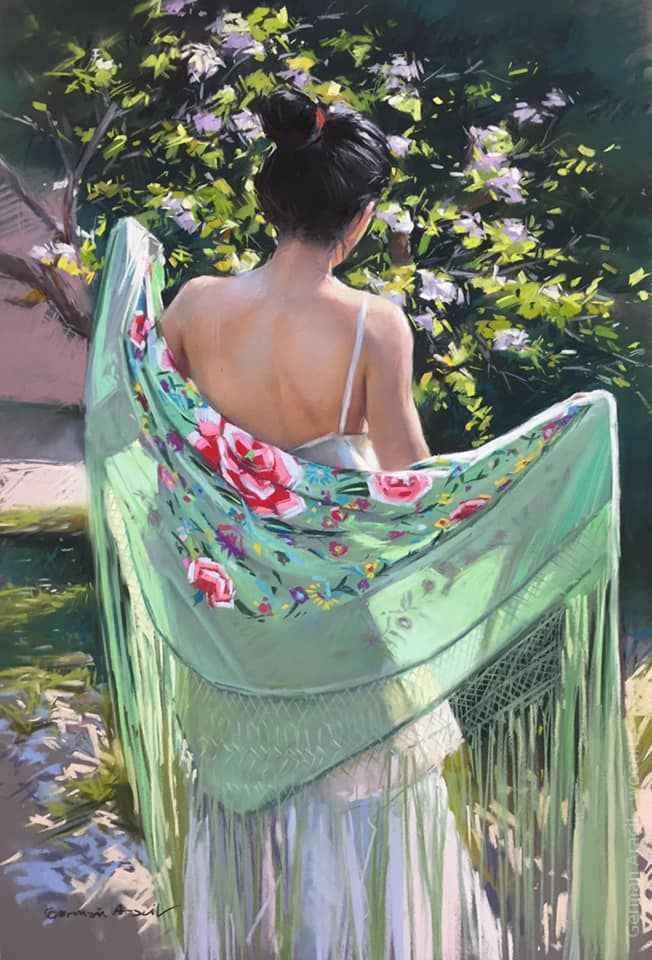 Painting by Artist German Aracil