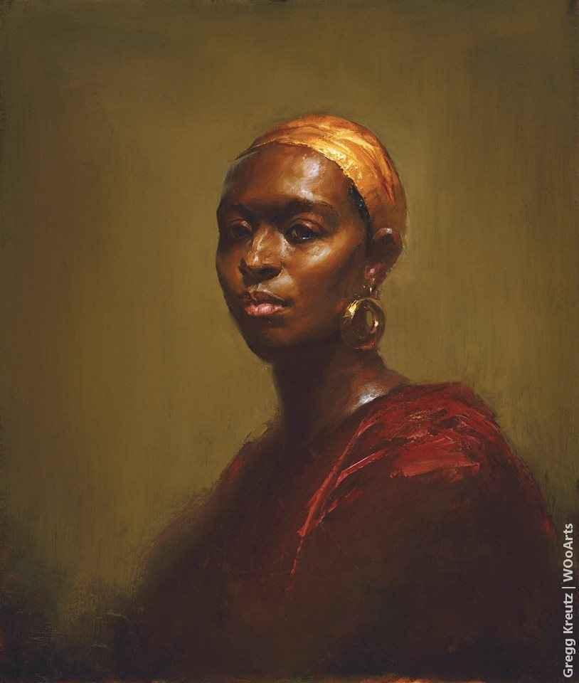 Gregg Kreutz american painting portrait