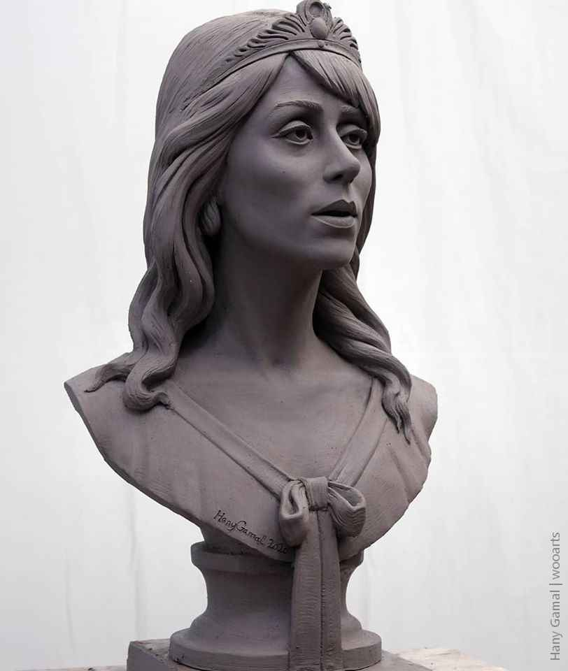 Sculpture by Artist Hany Gamal