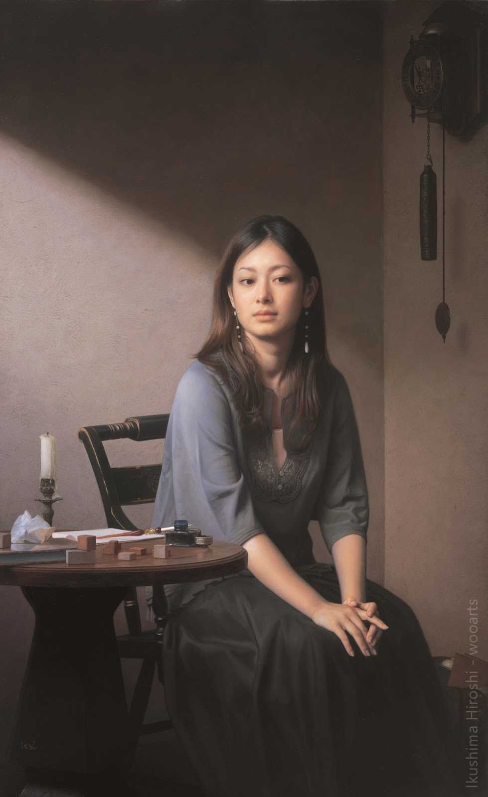 Ikushima Hiroshi Painting
