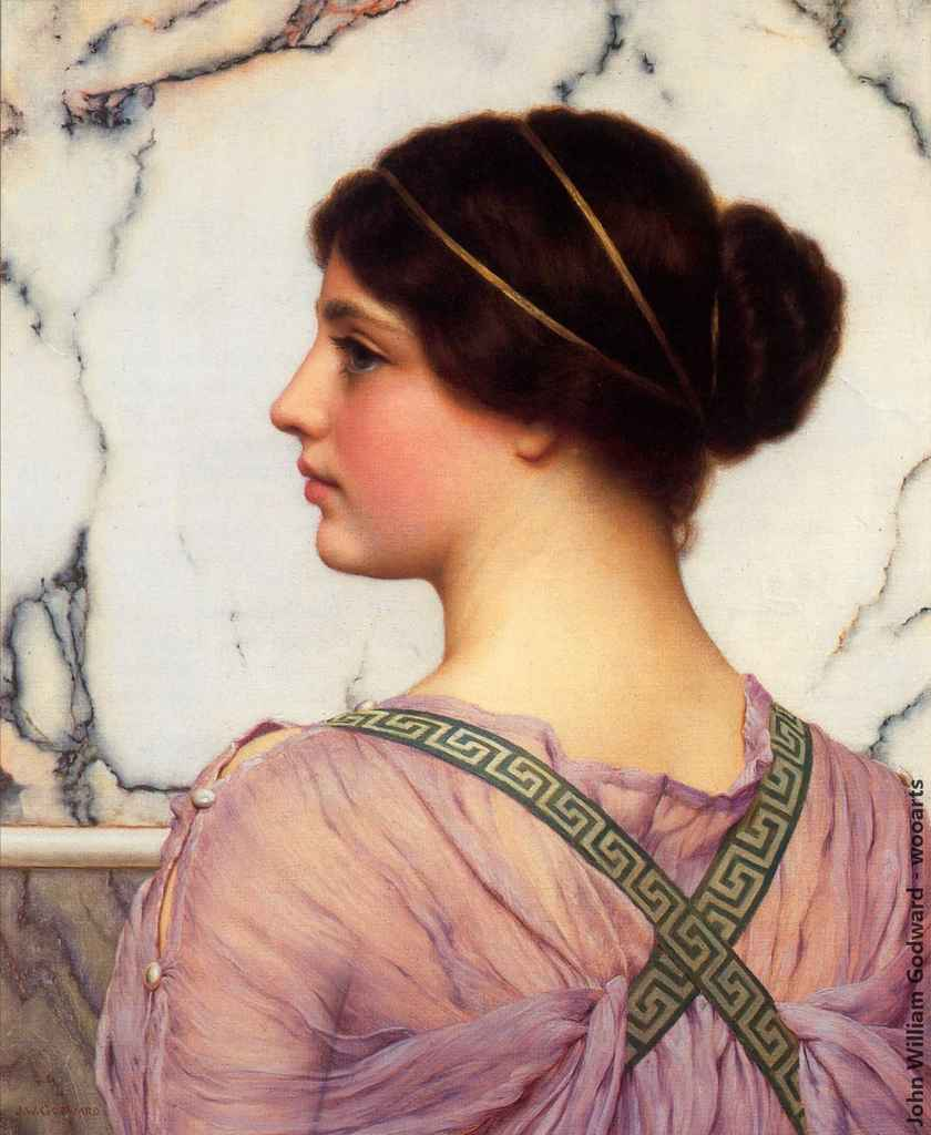 Painting by Artist John William Godward