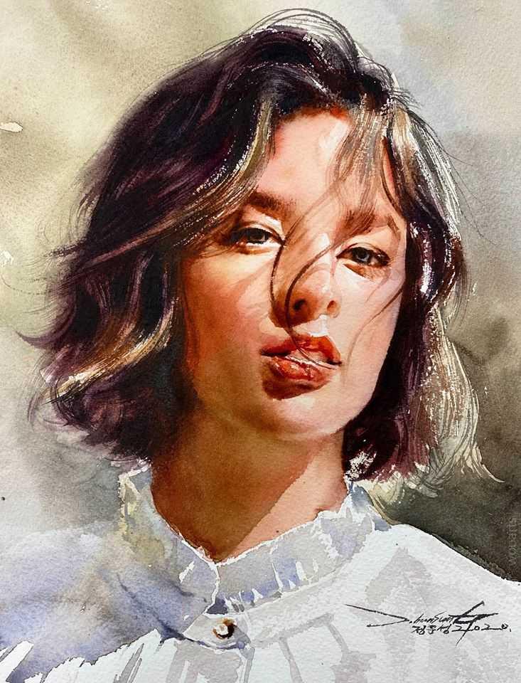 jung hun sungi watercolor painting wooarts 016