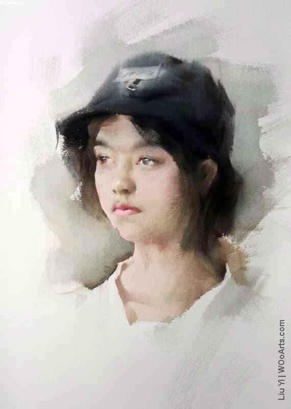 61 Beautiful Watercolor Paintings by Chinese Artist Liu Yi