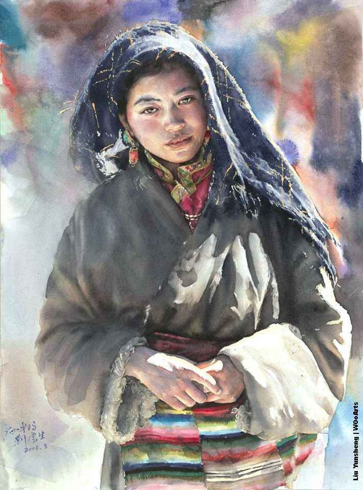 liu-yunsheng-watercolor-painting-wooarts-com-01