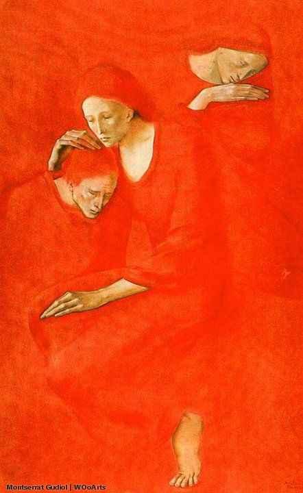 48 Selected Paintings By Spanish Artist Montserrat Gudiol