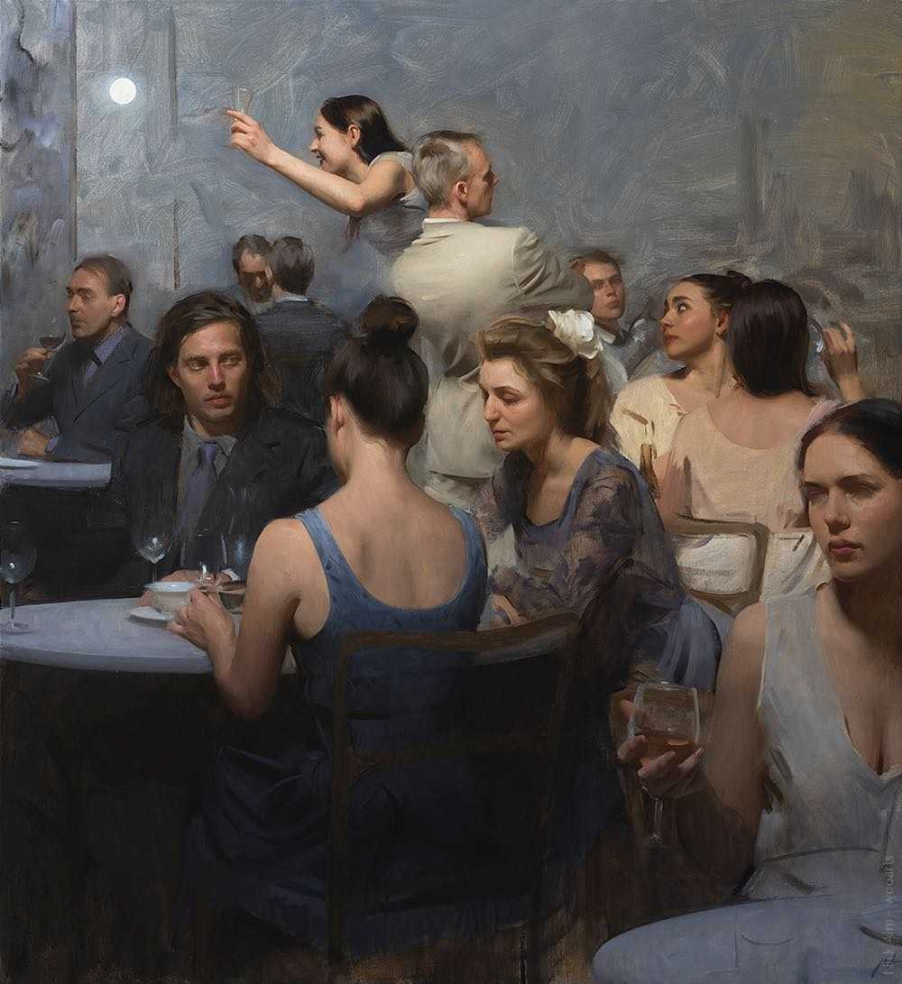 Nick Alm Painting