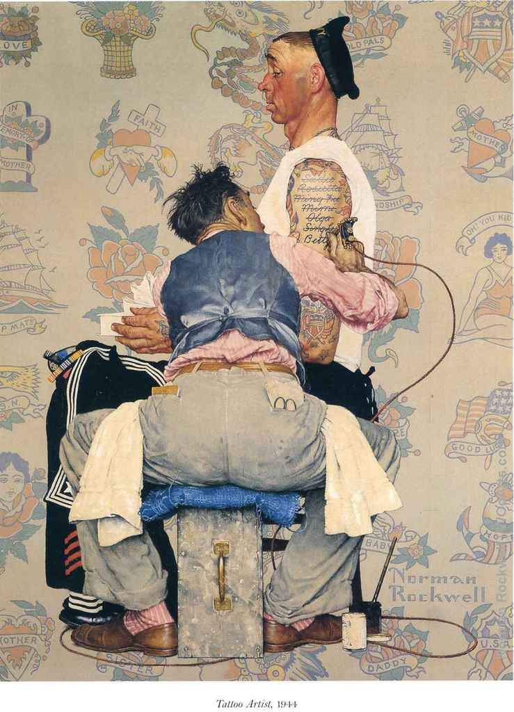 90 Illustrations By The Prolific Artist Norman Rockwell