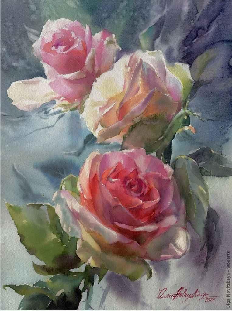 Painting by Artist Olga Novitskaya