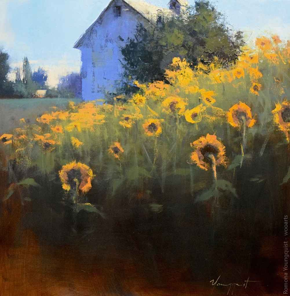 Painting by Artist Romona Youngquist